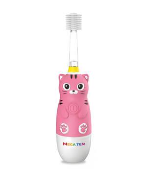 Детская электрическая зубная щетка MegaTen Kids Sonic   Котенок